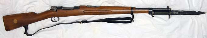 Model 1896 [Swedish Mauser]